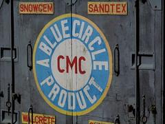 09 Pale Blue (amy's antics) Tags: paleblue railwaywagon 365d bluecirclecement