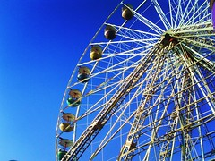 Fairground (shorefield6serri) Tags: sky classic wheel colorful bright fair ferris colourful blackpool fairgroud