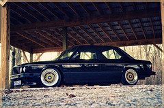 BMW E28- The 535i (Mike Burroughs) Tags: black gold bmw rs bbs bimmer 5er e28 535i