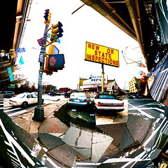NEW _OR_ STATE INSPECTION (6161810) Tags: street ny newyork collage brooklyn photo williamsburg juxtaposition bqe dl photocollage stateinspection ggpik 6161810