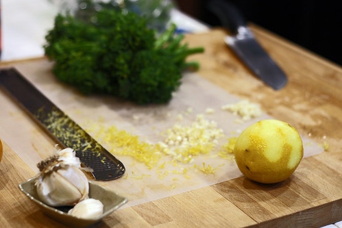 lemon garlic brocolini