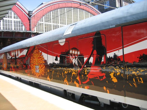 Train Chartering - Soundwave Express, a branded and themed train