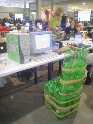 Estação ecológica da Rede Ecoblogs na Campus Party