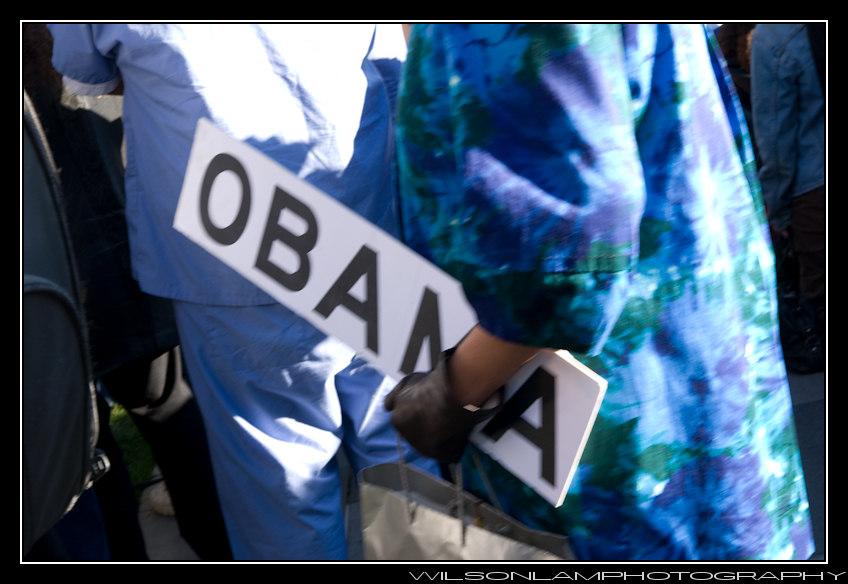 Yerba Buena Gardens Obama Inauguration '09 - 20