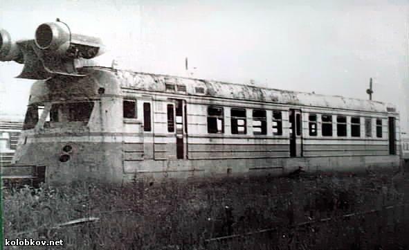 Trem a Jato Russo SLV - 1985