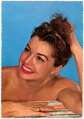 Esther Williams (Truus, Bob & Jan too!) Tags: cinema sexy film wet vintage movie star williams postcard hollywood movies esther filmstar estherwilliams krger