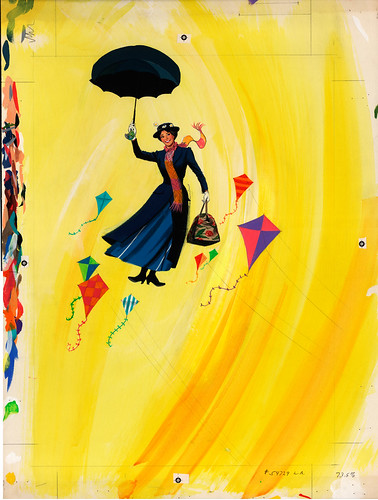 Disney On Parade 1973 Souvenir Program - Cover Painting - Nixon Galloway