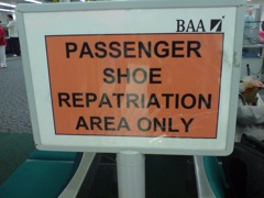 Shoe Repatriation
