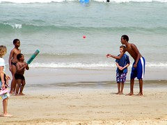 Fun for all the family (Tony Marsh) Tags: australiaday lorne beachcricket