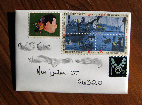 Boston Tea Party stamps