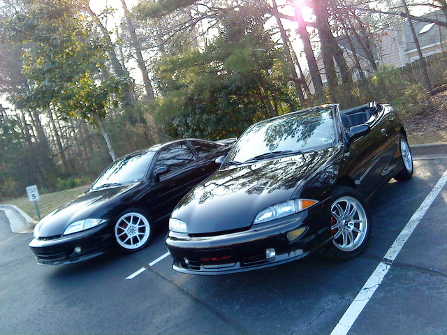 2002 black sexy chevrolet convertible chevy 1998 cavalier coupe