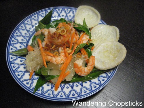 Goi Buoi Tom (Vietnamese Pomelo Salad with Shrimp) 5