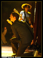 The Thermals at The Bell House (Rock and Racehorses) Tags: show music ny rock brooklyn photography concert bass guitar live indie kathy onstage subpop hutch rockphotography bellhouse thermals thethermals killrockstars rockandracehorses thebellhouse sarahkandrew ska4506