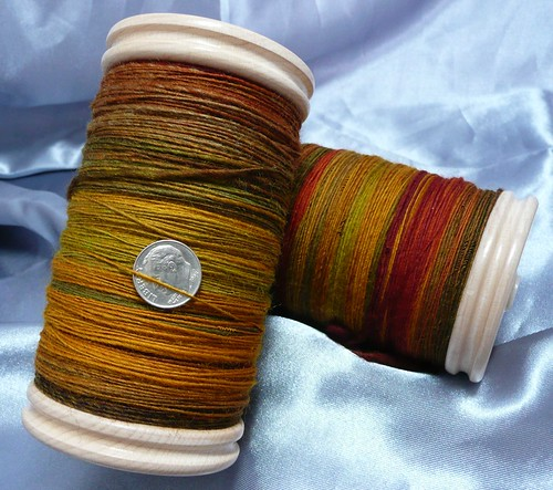8 oz Spinners Hill Corriedale-Finn Ramboullet - Fall colors