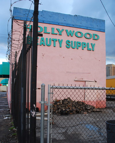 Hollywood Beuaty Supply with Vintage Cobblestones