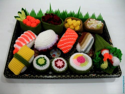 Crochet Sushi!