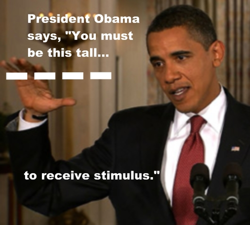 Stimulus Height Requirement...