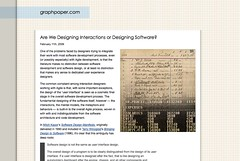 graphpaper.com - Are We Designing Interactions or Designing Software