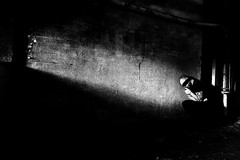 Castigo (Funky64 (www.lucarossato.com)) Tags: light bw white black abandoned blackwhite decay fear bodylanguage bn io occhi terror tatoo bianco nero luce tatto tatuaggio buio castigo lightin paura terrore abbandono benda tribale supershot bianonero bnpersone theunforgettablepictures lucarossato salvare1 salvare3 salvare2 salvare4