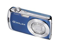 Blue Casio Exilim EX-S5 Digital Camera