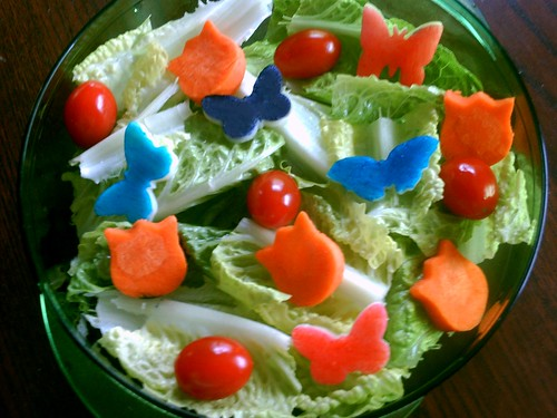 Butterfly Salad Bento