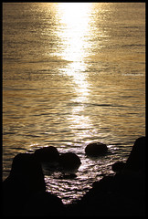 Sunset with nostalgia (blackteaj.justice) Tags: sunset canon eos 夕日 海 jonanjima 城南島 40d ef70200mmf4lisusm