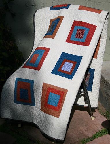 Solids & Squares Quilt