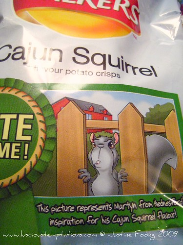 Cajun Squirrel Walkers Crisps