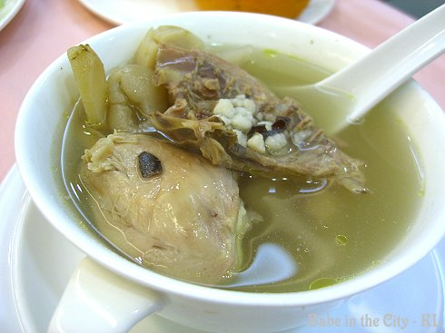 Chicken Delight Herbal Soup RM10.00