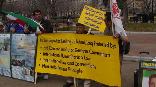 Ashraf demonstration