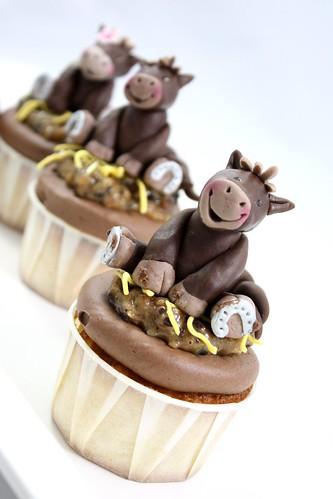 Custom Order Horse Cupcakes