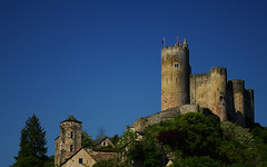 Wallpaper: Najac Castle
