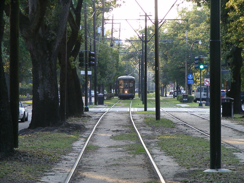 Streetcar, Broadway and St. Charles