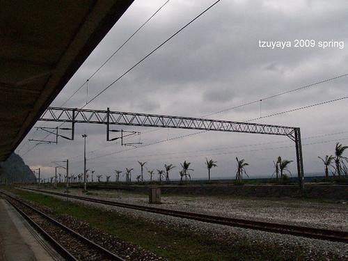 宜蘭。漢本車站