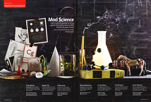 ReadyMade April/May 2009: Mod Science