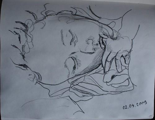 Pencil Sketch: nap