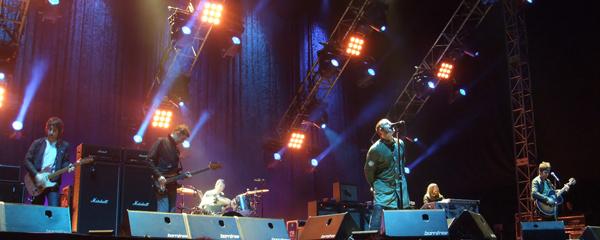 Oasis live at Taipei 2009