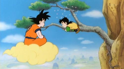 Dragon Ball Kai Goku y Gohan
