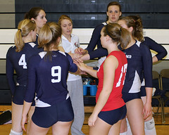 IMG_6703 (SJH Foto) Tags: girls college team tournament volleyball cheer huddle 18s elizabethtown 4609 norlanco