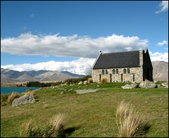 Church of the Good Shepherd, Lake Tekapo, New Zealand (Lincolnian (Brian)) Tags: newzealand building church mackenziecountry laketekapo churchofthegoodshepherd abc aplusphoto flickraward flickrelite astoundingimage lovely~lovelyphoto