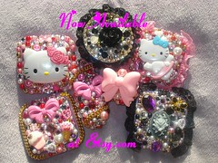 PinkY Anela shop is now available (Pinky Anela) Tags: pink hk black japanese tokyo mirror purple hellokitty sanrio bow kawaii lighter deco hime gyaru himegyaru