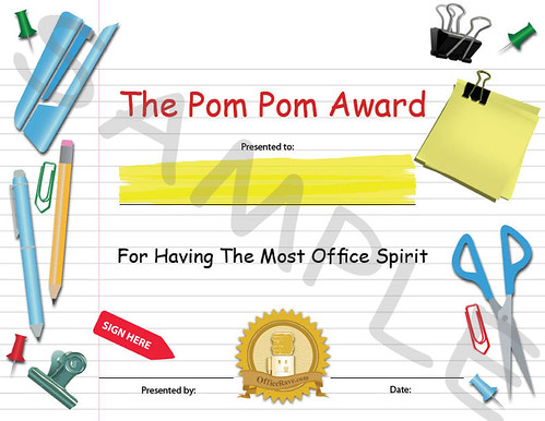 funny office awards. Funny Employee Office Awards: