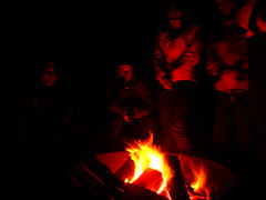 First campfire of 2009