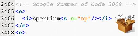 Apertium XML (av ebemenelli)