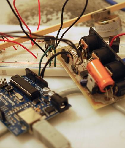 Arduino MIDI solenoid snare drum