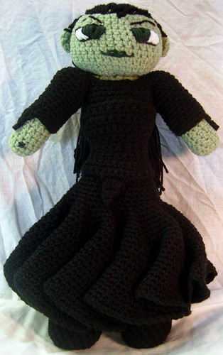 Amigurumiwitches Forum : Ravelry: Ozchilde Amigurumi Wicked Witch of the West from ...
