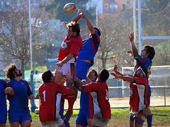 OL_4897 (Jordi Bri) Tags: barcelona sport rugby olympus deporte bara fcbarcelona esport e510 rugbi jordibrio lateixonera