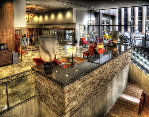 Marriot City Center Lobby