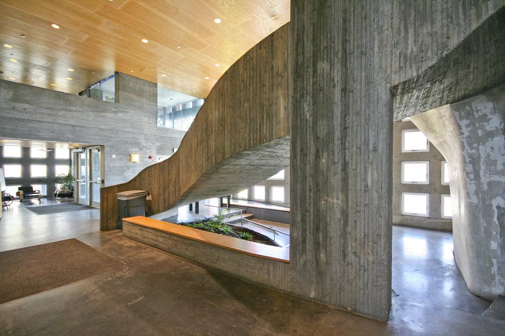 Simmons Hall Lobby - MIT - Steven Holl