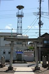 小堤白山の火の見櫓(川越市)